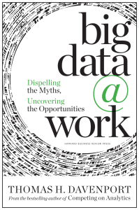 Big Data at Work Book Cover